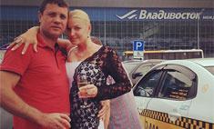 Анастасия Волочкова и Бахтияр с шиком отметили полгода отношений