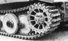 немецких танков странные гусеницы