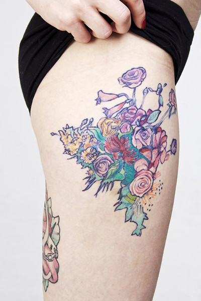Светлана Солнцева, Ural Tattoo Queen 2015