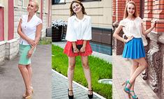 С чем носить белую блузку: 43 модных образа