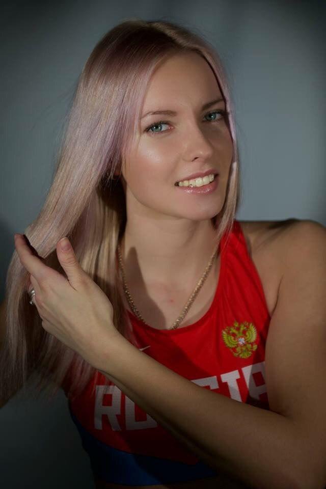 Алена Лутковская, прыжки с шестом