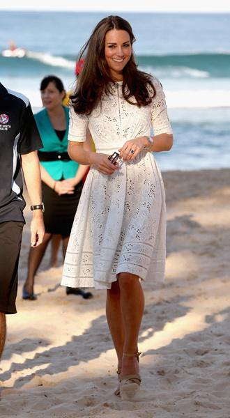 Кейт Миддлтон на праздновании Королевской Пасхи в Сиднее