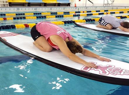 Испытано на себе: фитнес на серфе