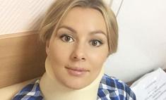 Мария Кожевникова травмировала шею