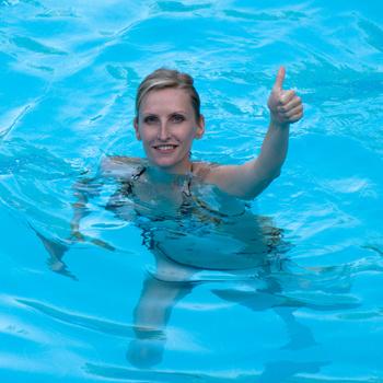 Плавание помогает похудеть