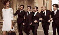 Итальянские красавцы в рекламной кампании Dolce & Gabbana
