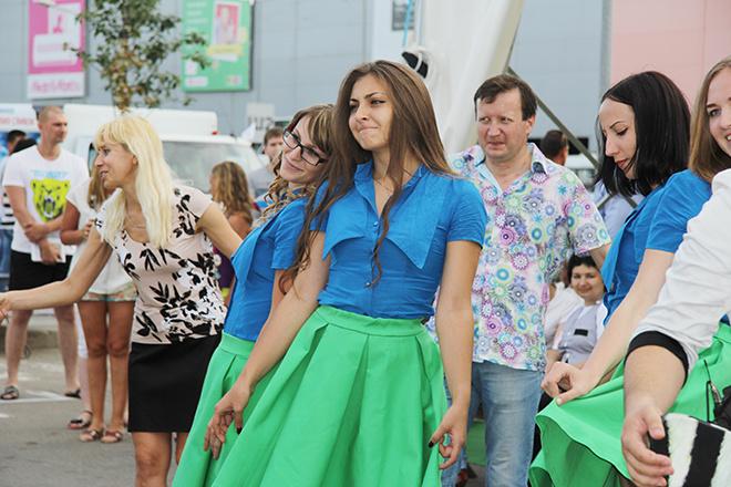 фотоотчет фестиваль еды в МЕГЕ Ростов-на-Дону 2015