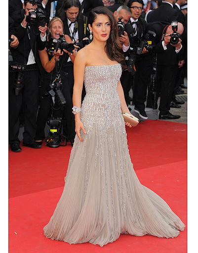 Сальма Хайек в платье Gucci Premiere