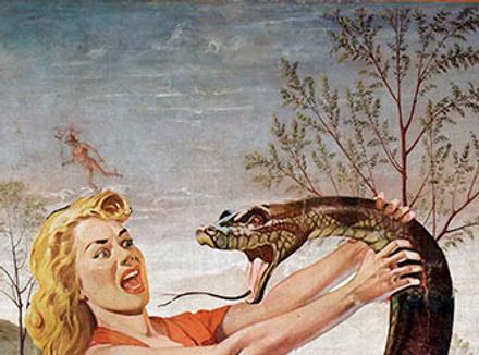 Беременной девушке приснились змеи 53