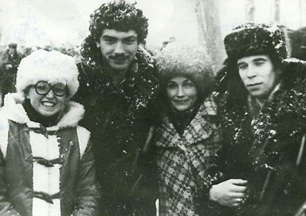 Немцов с сокурсниками