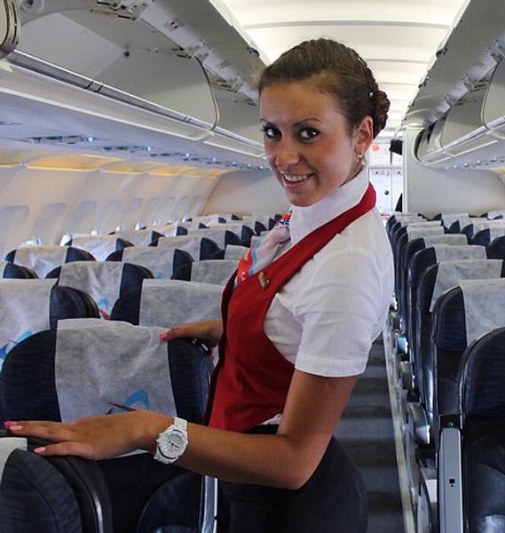 У вас был секс со стюардессой