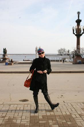Жанная Эпле, Волгоград, набережная Волгограда, Волга