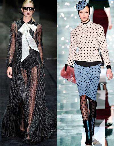 Gucci и Marc Jacobs, осень-зима 2011/2012