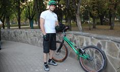 Велотриал с Виталием Чваниным