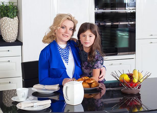 Светлана Силина, семья