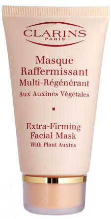 Регенирирующая укрепляющая маска Masque Raffermissant, Clarins на основе растительных ауксинов за 5-10 минут обеспечивает омолаживающий эффект.