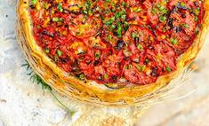 Летний пирог с помидорами от Ники Белоцерковской