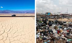 Гигантская свалка электроники и другие места на Земле с самыми экстремальными условиями