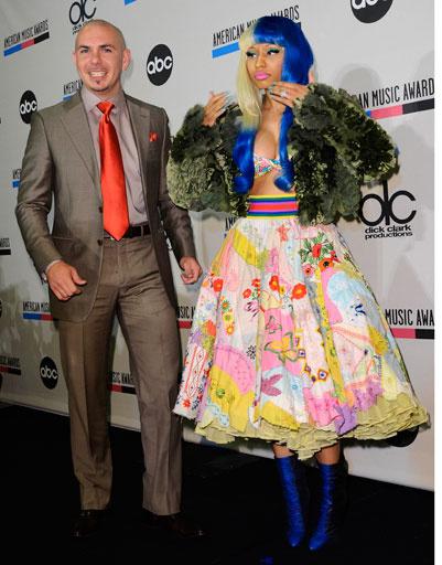 Ники Минай (Niki Minaj) и Pitbull