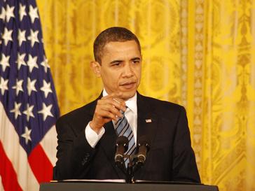 Барак Обама (Barack Obama) выдвинул ультиматум Муаммару Каддафи (Muammar Kaddafi)
