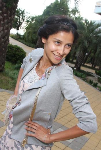 Равшана ездит на «Кинотавр» уже четыре года подряд.