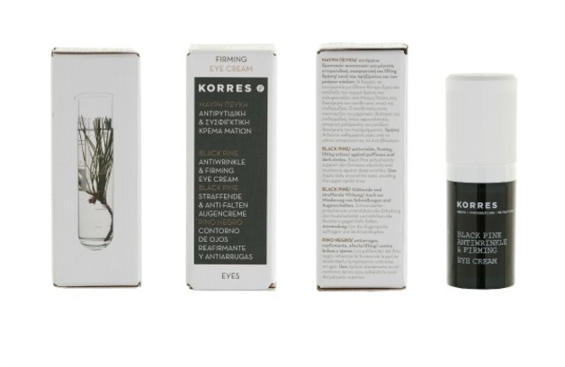крем для глаз korres antiwrinkle firming eye cream