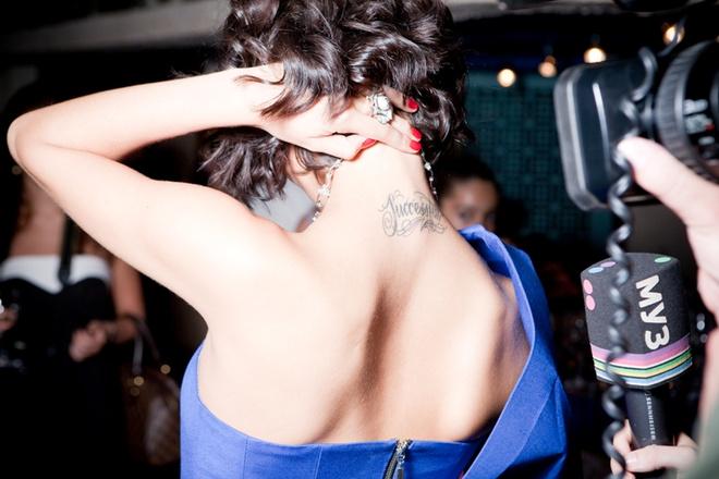 Ляйсан Утяшева и ее новая татуировка