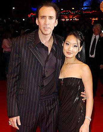 Николас Кейдж (Nicolas Cage) с женой