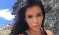 Ким Кардашьян показала «беременные» губы