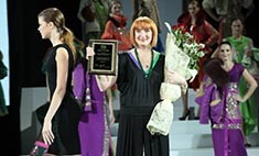 Светлана Бекарева представила коллекцию одежды на Неделе моды в Москве