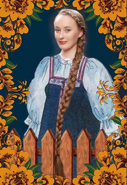Валентина Жученко, «Уральская краса – русская коса», фото