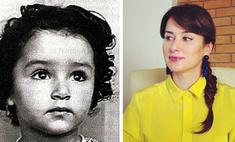 Тина Канделаки показала детское фото в честь праздника