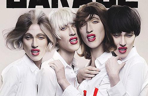 Обложка журнала Garage Magazine весна-лето'2013