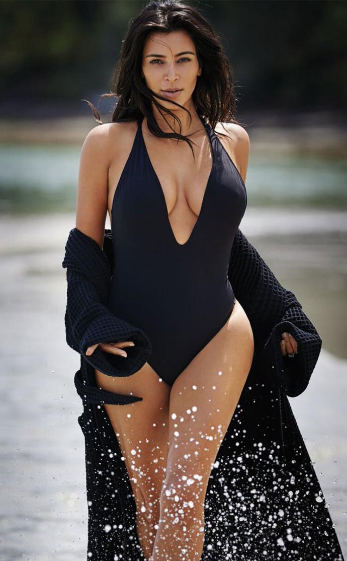 Ким Кардашьян в фотосессии для журнала Editorialist