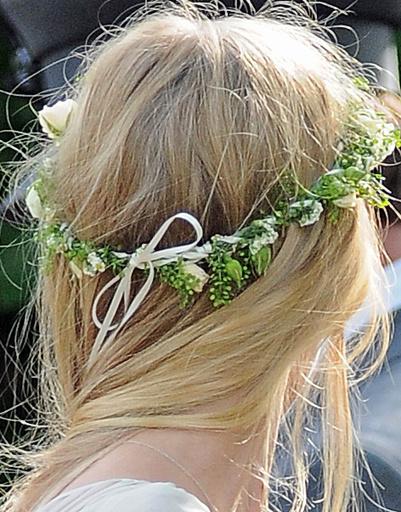 Свадебная прическа Кейт Мосс (Kate Moss).