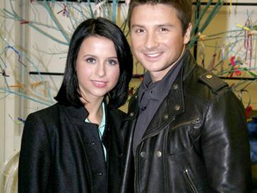 Мирослава Карпович и Сергей Лазарев