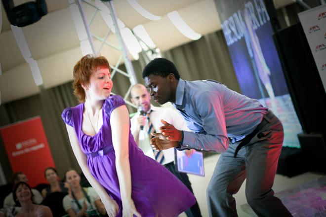 Национальный конкурс свадебного танца в рамках The Summer Fair