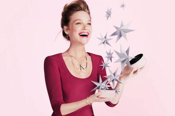 Новогодняя рекламная кампания Tous 2014