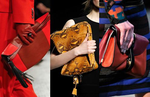Модели сумок сочных расцветок от Hermes, Prada и Proenza Shoulder скрасят осенние будни