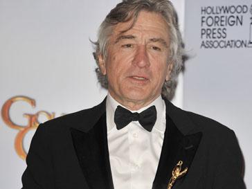 Роберт Де Ниро (Robert De Niro) получил «Золотой глобус» за вклад в развитие киноиндустрии