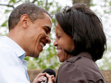 Барак Обама (Barak Obama) и Мишель Обама (Michelle Obama)