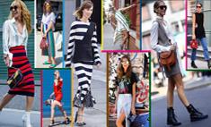 Вдохновляемся: стильные уличные образы с недель моды