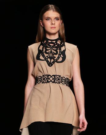 Показ коллекции Borodulin's осень-зима 2013/14 на Mercedes-Benz Fashion Week Russia