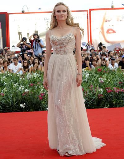 Диана Крюгер (Diane Kruger) на открытии 68-го Венецианского кинофестиваля