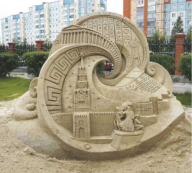 В Сургуте пройдет ежегодный фестиваль песчаных скульптур