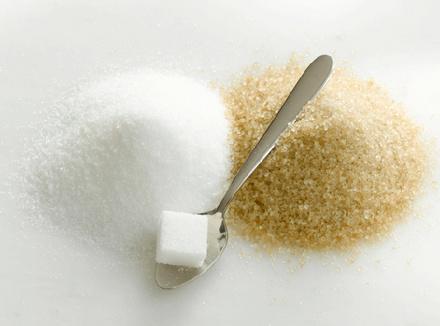 Три вида сахара