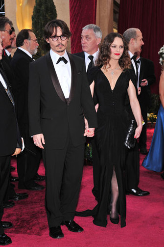 Ванесса Паради (Vanessa Paradis) с мужем Джонни Деппом (Jonny Depp)