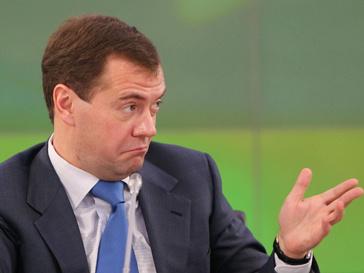 Президент России Дмитрий Медведев сократит штат госслужащих на 20%