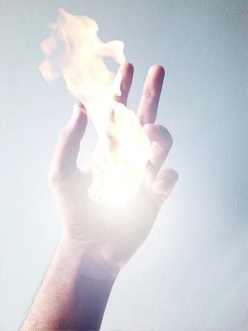 горят руки что делать