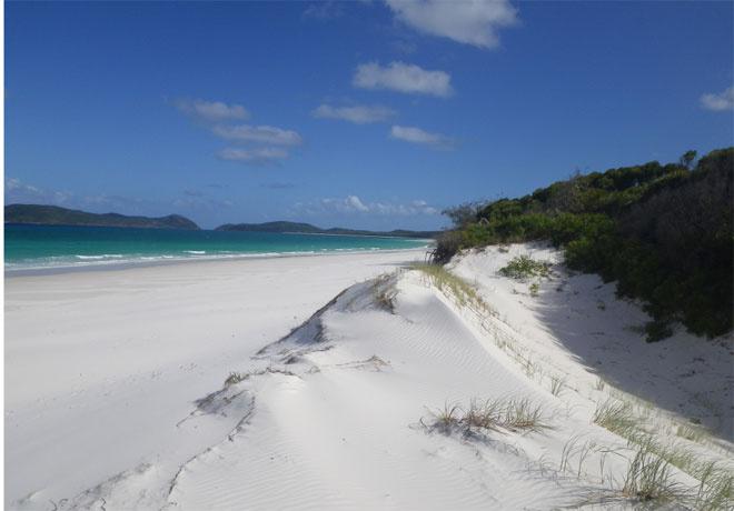 Whitehaven Beach, острова Уитсанди, Австралия